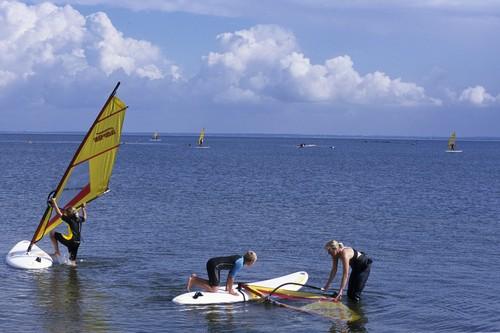 Windsurfen bei Hvide-Sande