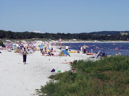 Der Ferienort Balka auf Bornholm