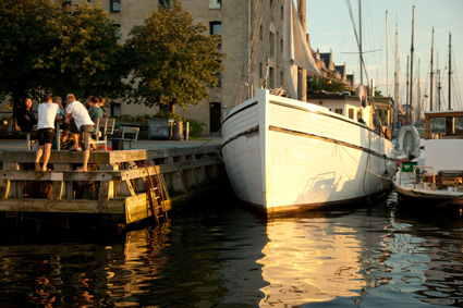 Christianshavns, Am Kanal, Kopenhagen