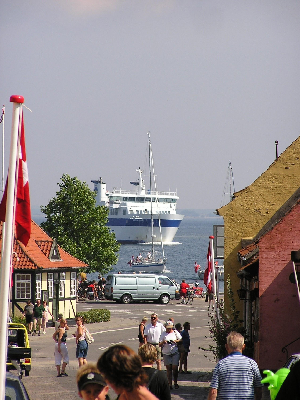 Ankunft Miljoe, Dänemark