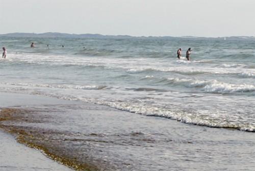 Am Nordseestrand von Römö