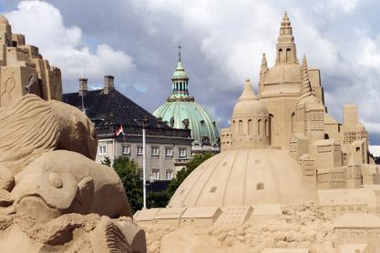 Kopenhagen Sandskulpturenfestival